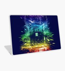 time storm-rainbow version Laptop Skin