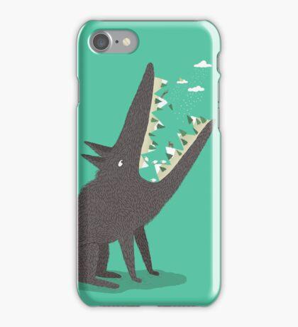 Au loup ! iPhone Case/Skin