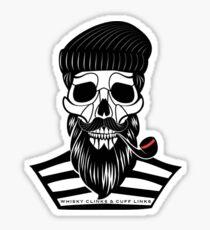 Scrawly Sailor Sticker