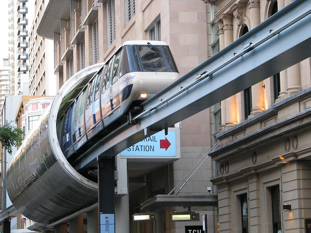 Monorail, Pitt St, Sydney by tdierikx
