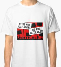angry outraged people Classic T-Shirt