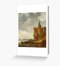 Country House near the Water Greeting Card