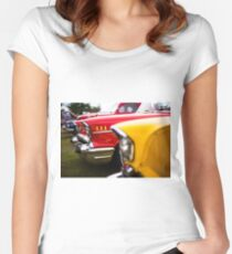 Bumper to bumper - Belair Women's Fitted Scoop T-Shirt