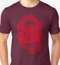 Pop Noir 1 Red Unisex T-Shirt