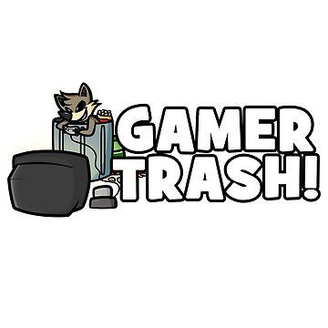 Gamer Trash! Shady Corner 2017 Shirt by BaronVonRosco