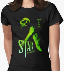 Scream - Stab Movie Poster Women's Fitted T-Shirt