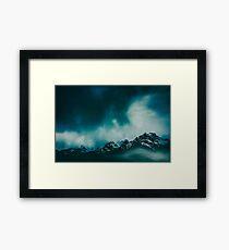 wild peaks Framed Print