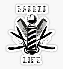 Barber Life Sticker