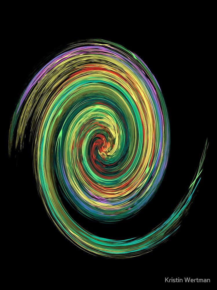 """Hurricane Of Color"" by Kristin Wertman"