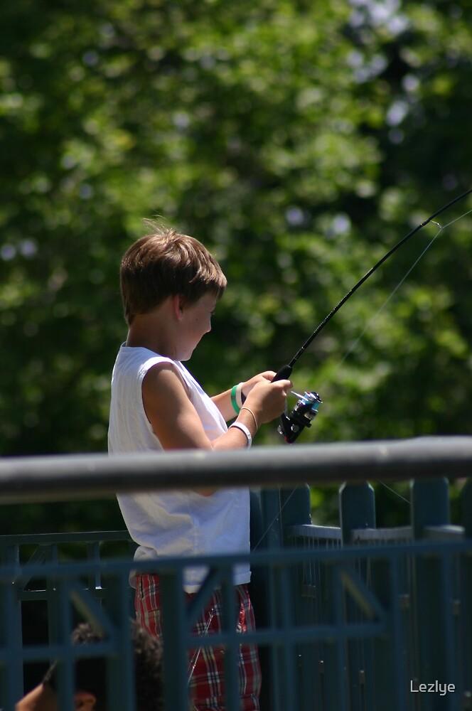 Lil Fisherman by Lezlye