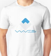 Waves Crypto Currency Unisex T-Shirt