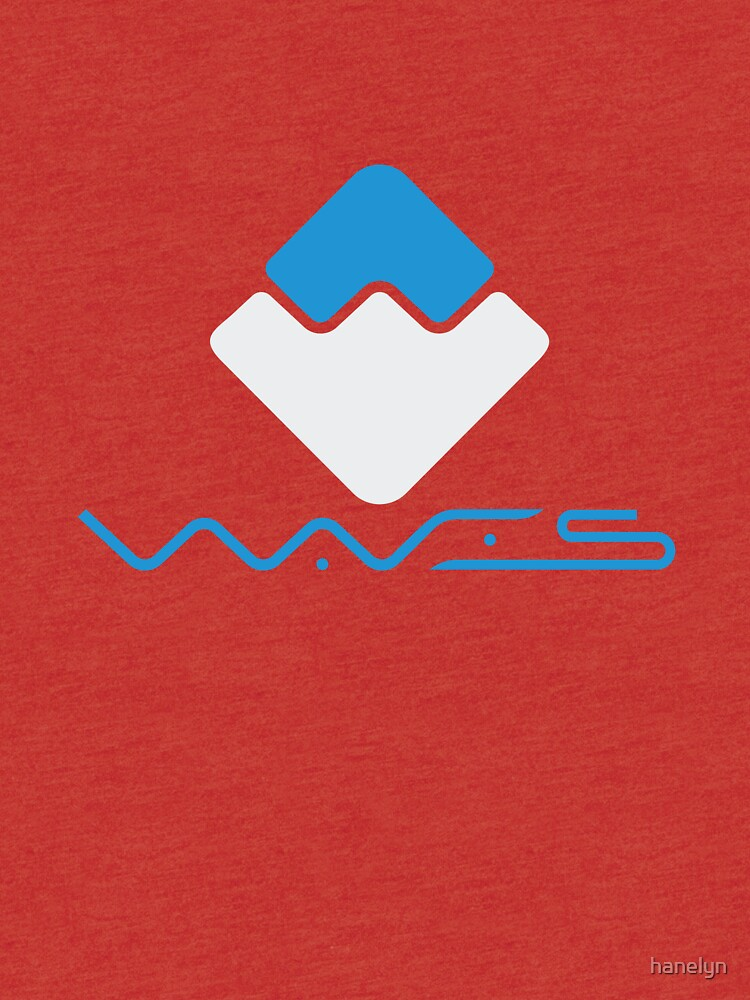 Waves Crypto Currency | Tri-blend T-Shirt