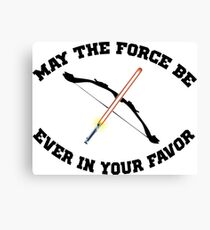 THE HUNGER GAMES MEETS STAR WARS Canvas Print