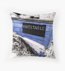 Whitstable Boat Throw Pillow