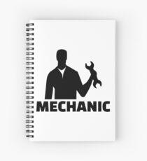 Mechanic Spiral Notebook