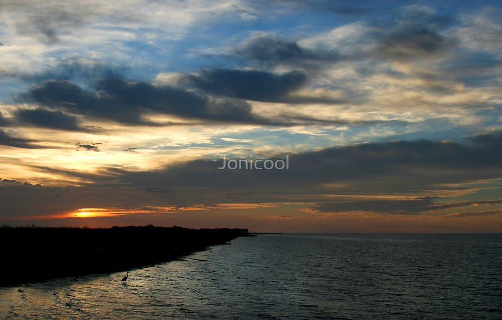 Coastal Sunrise by Jonicool