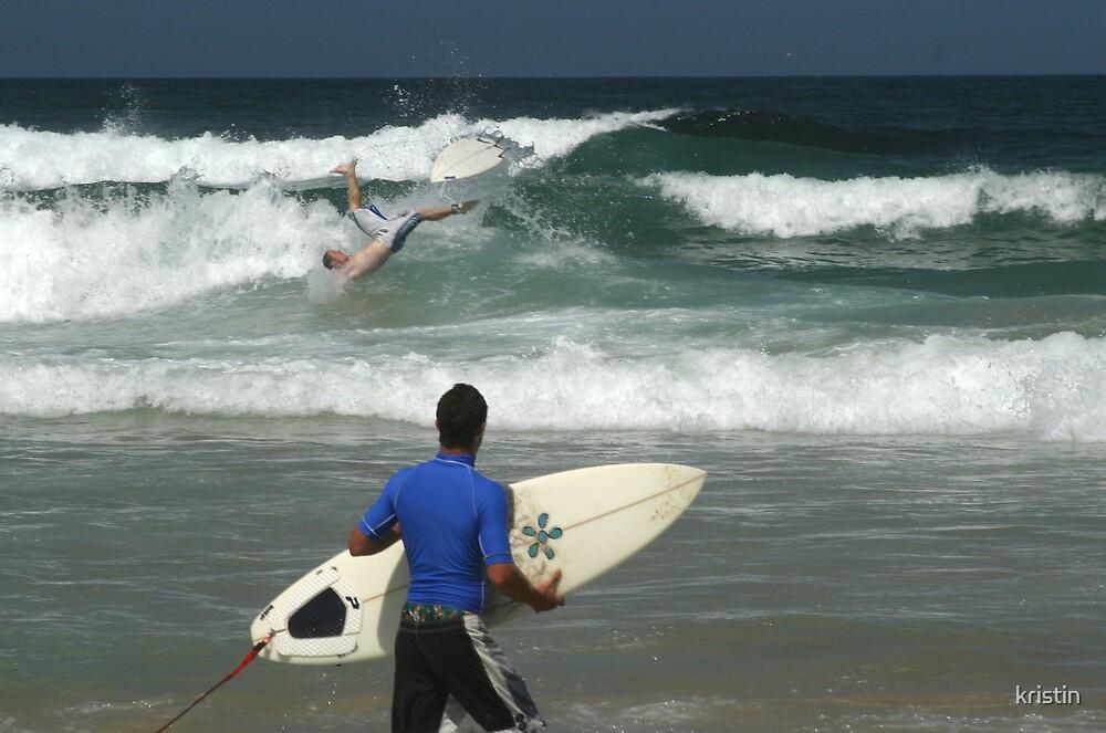 surfers crash by kristin