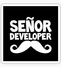 Señor developer Sticker