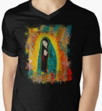 Our Lady of Guadalupe Mens V-Neck T-Shirt