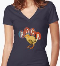 Chloe Price - Rock Pajama Women's Fitted V-Neck T-Shirt