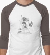 SAVE m1rf! Invert Men's Baseball ¾ T-Shirt