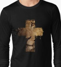 Lion Cross Christian  Long Sleeve T-Shirt