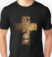 Lion Cross Christian  Unisex T-Shirt