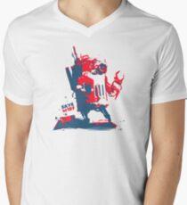 SAVE m1rf! HOPE edition Men's V-Neck T-Shirt