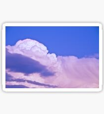 Clouds Before The Storm Sticker