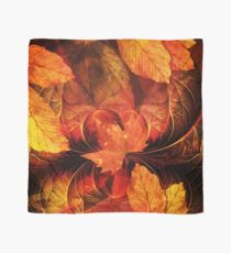 Apoptosis: The Fractal Geometry of Falling Leaves Scarf