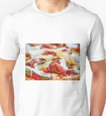 Pancetta Parmesan and Arugula Pizza T-Shirt