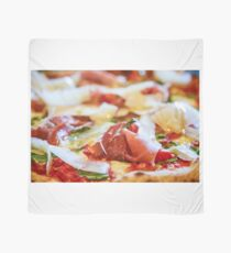Pancetta Parmesan and Arugula Pizza Scarf