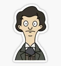 The Eighth Doctor - Bob's Burgers Style Sticker