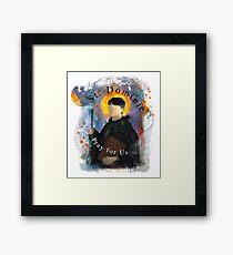 Saint Dominic Contemporary Catholic Art Framed Print