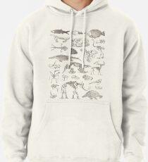 Paläontologie-Illustration Hoodie