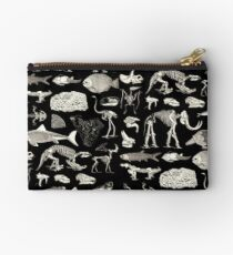 Paleontology Illustration Studio Pouch