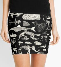 Paleontology Illustration Mini Skirt
