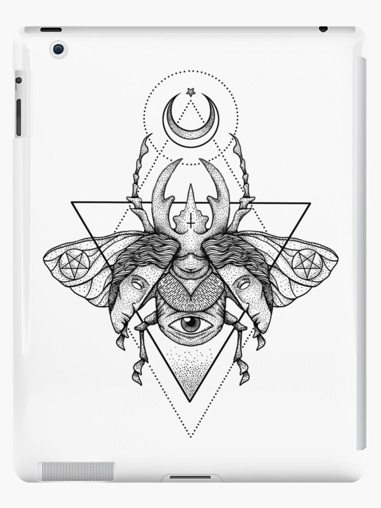 Occult Beetle II by deniart
