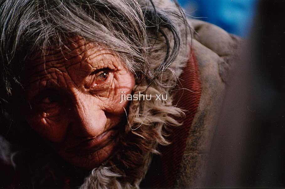 Tibetan women by jiashu xu