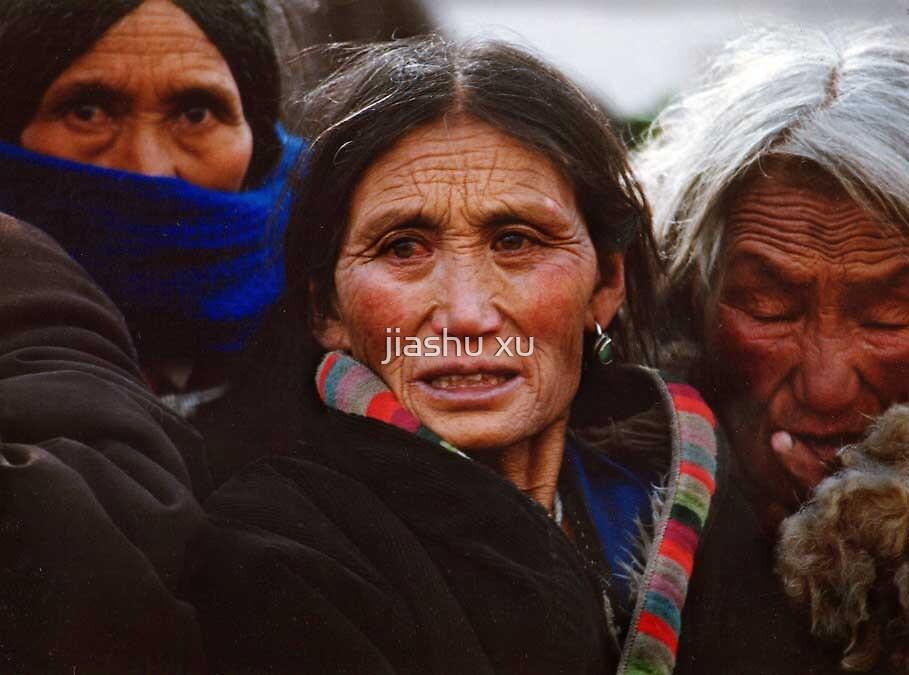 Three Tibetan woman by jiashu xu