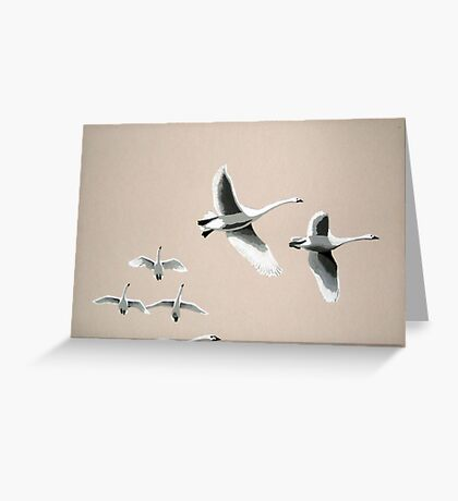 flying south Greeting Card
