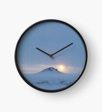 Winter Gobi Clock
