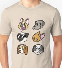 A dog's Emotions Unisex T-Shirt