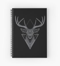 Cuaderno de espiral Ciervo oscuro