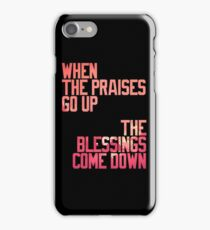 BLESSINGS. iPhone Case/Skin