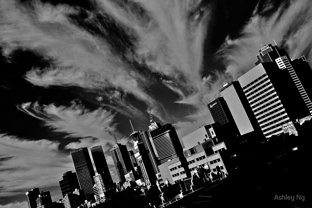 Cloudscape over Melbourne by Ashley Ng