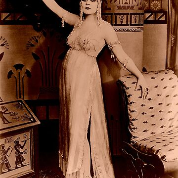 Theda Bara starring as Cleopatra by apeape