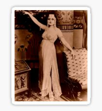 Theda Bara starring as Cleopatra Sticker