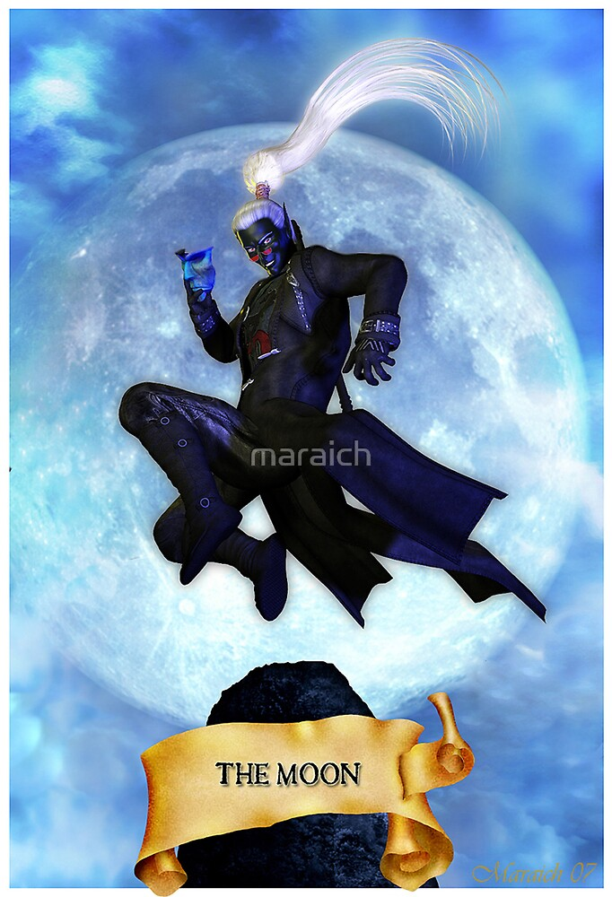 The Moon by maraich