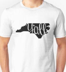 North Carolina Y'all Unisex T-Shirt